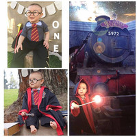 Harry Potter Baby Birthday Outfit Costume