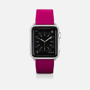 Pink to black gradient Apple Watch Band (42mm)  by WAMDESIGN | Casetify