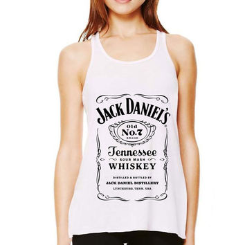 Loose Fit Jack Daniels Tank Top
