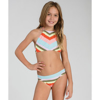 ALOHA LOVE CROP SWIMWEAR