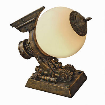 ©Steampunk Airship Illuminated Sculpture - CL6654 - Design Toscano