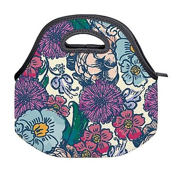 Erin Condren Lunch Tote, Floral Ink (ACC LNT 01) | Staples