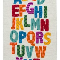 Rizzy Home Play Day Alphabet Rug   Nordstrom