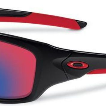 VONEA7H New Oakley OO9236-02 Valve Polished Black Frame +Red iridium lens