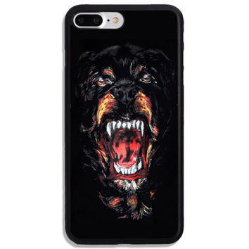 Best Givenchy Rottweiler Logo Hard Cover Protector Phone Case For iPhone 7 Plus
