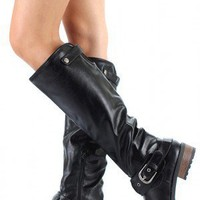 Qupid Relax-39 Riding Knee High Boot