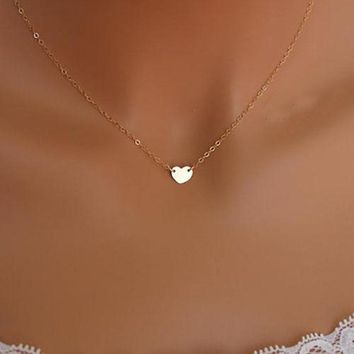 Fashion Jewelry Chain Sexy Gold  Love Heart Necklace Jewelry Heart