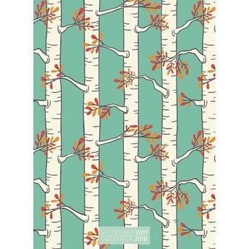 Birch Trees 12-Month Simplicity Planner, Nature by TF Publishing