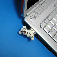 Hemingwayfun: White Tiger 4GB USB Flash Drive, at 17% off!