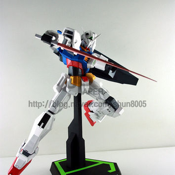 Gundam Age,Create your own Gundam,Instant Pdf download, DIY, 3D Pattern,Paper toys,Handmade Gundam, Paper Gundam,Paper Crafts,Paper Robot,3D