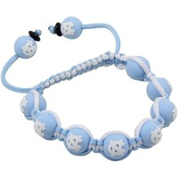North Carolina Tar Heels (UNC) Ladies Beaded Bracelet - Carolina Blue