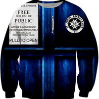 Doctor Who Sweater Design