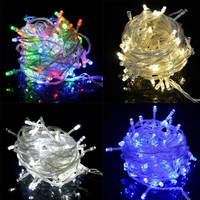 HOMDOX Waterproof Energy Saving 20m 200LED Bulbs Holiday Fairy Light String Lights Wedding Party Christmas Decoration US Plug