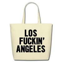 Los fucking Angeles Tote Bag