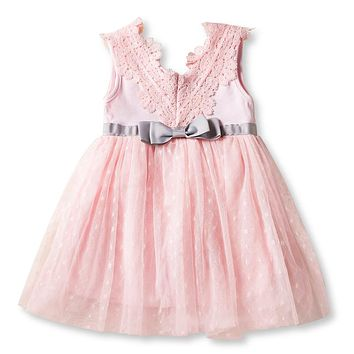 Infant Baby Girl Dress 2018 Princess Tutu Dress For Girl Party Frocks First Birthday Gift Christmas Dress For Baby Kids Clothing