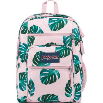 JanSport - Big Student Monstera Palm Leaves Backpack