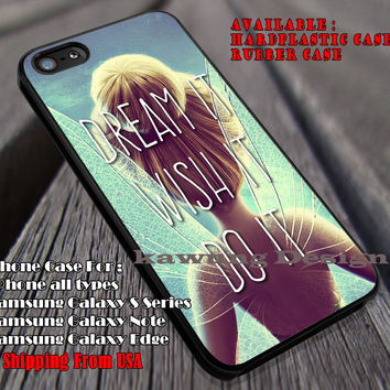Peri Quote | Tinker Bell | Tinker Bell Quote | Disney Story | Pixie Dust | case/cover for iPhone 4/4s/5/5c/6/6+/6s/6s+ Samsung Galaxy S4/S5/S6/Edge/Edge+ NOTE 3/4/5 #cartoon #disney #animated #tinkerbell #comic ii