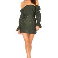 C/MEO Assemble Embellished Top in Forest | REVOLVE