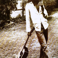 Bob Marley Leaning on Guitar Poster 24x36