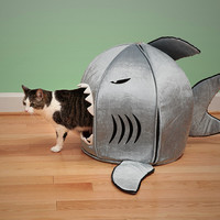 Shark bed of cat dog bed 42x42x37cm, removable cushion,most lovely pet house gift for pet