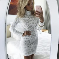 Mavis White Mini Dress