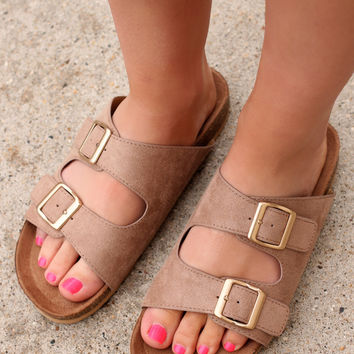 Downtown NYC Sandal - Taupe