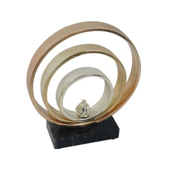 Gold Bands Table Top Decor II
