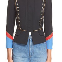 MARC BY MARC JACOBS Gabardine Military Jacket | Nordstrom