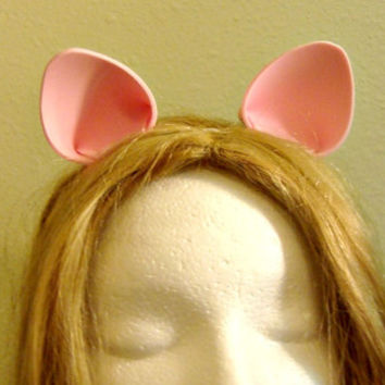 Pink My Little Pony Rarity Cat Cosplay Ears