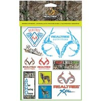 Realtree Xtra Sheet of Binder Stickers
