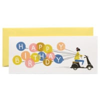 Happy Birthday Scooter Card