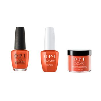 OPI - Gel, Lacquer & Dip Combo - Suzi Needs a Loch-smith