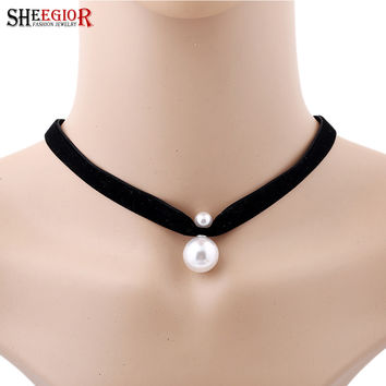 Women Black Necklace Jewelry Accessories