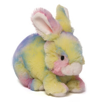 Gund Baby Gund Easter Soft Toy, Skiddles Splatter Color Patch Bunny (Discontinued by Manufacturer)