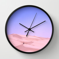 Lay Into Me Wall Clock by Ben Renschen