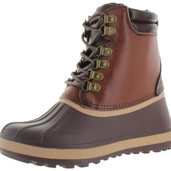 Moda Essentials Womens Duck Toe Snow Hiking Boots