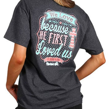 "Cherished Girl Women's ""We Love"" Graphic Tee"