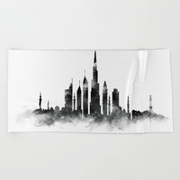 Dubai Skyline by monn