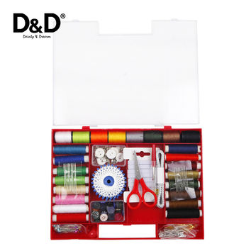 D&D 316Pcs Lot Portable Sewing Kits Multi function Sewing box Home Travel Essential Accessories Sewing tools Set