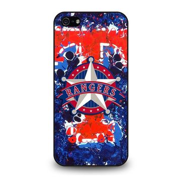 TEXAS RANGERS BASEBALL iPhone 5 / 5S / SE Case Cover