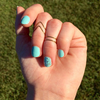 Midi Rings, Stacking Rings, Knuckle Ring Set