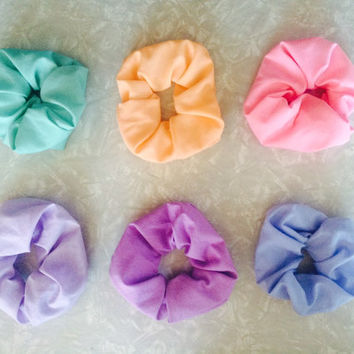 pastel dream scrunchie