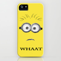 Despicable Minion -Whaat iPhone & iPod Case by Iva Ivanova ART