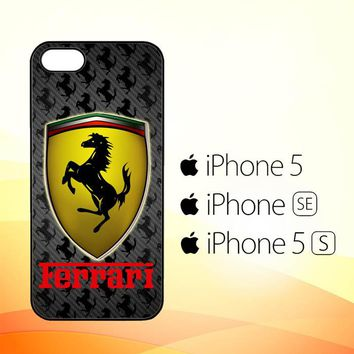 Ferrari logo Z3061  iPhone 5|5S|SE Case