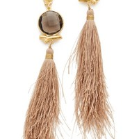 Serti Bella Pompon Earrings