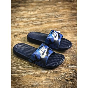 Nike Benassi Swoosh Sandals Style #13 Slippers