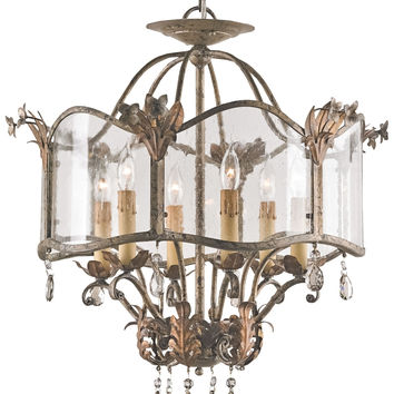 Currey Company Zara Ceiling Mount Chandelier