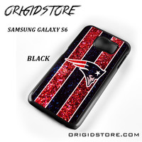 New England Patriots Nfl Logo Glitter For Samsung Galaxy S6 Case Please Make Sure Your Device With Message Case UY