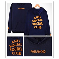 Anti social club the new fall undefeated men's Sweater Hoodie [10469373315] F