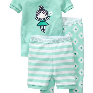 Old Navy 3 Piece PJ Sets For Baby